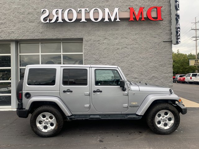 2014 Jeep Wrangler Unlimited Sahara 4WD 5-Speed Automatic