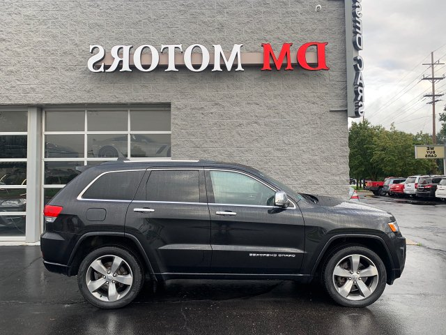 2014 Jeep Grand Cherokee Overland 4WD 5-Speed Automatic