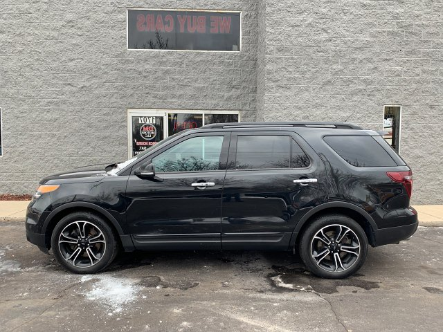2013 Ford Explorer Sport 4WD 6-Speed Automatic