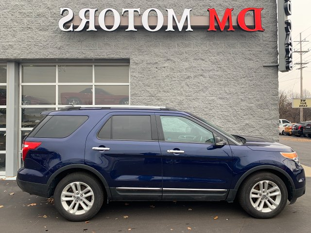 2011 Ford Explorer XLT FWD 6-Speed Automatic