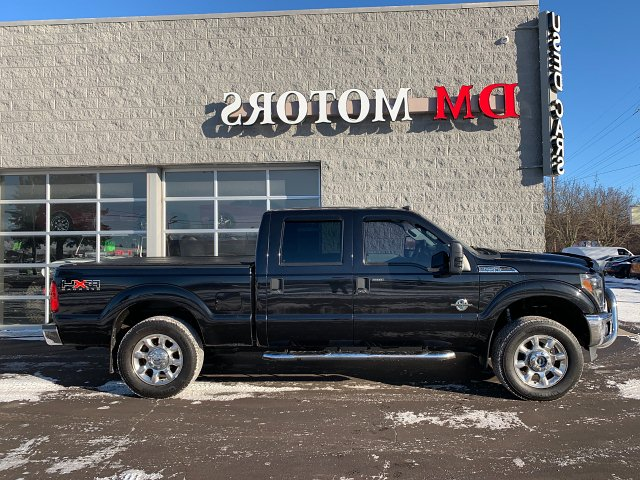 2011 Ford F-250 SD XLT Crew Cab 4WD 6-Speed Automatic