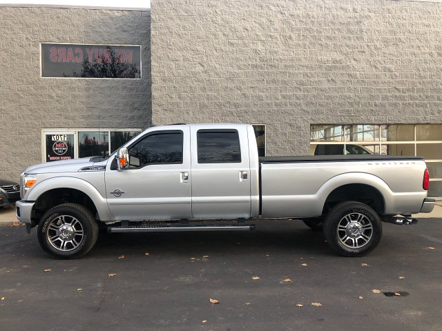 2015 Ford F-350 SD King Ranch Crew Cab 4WD 6-Speed Automatic