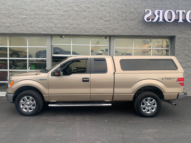 2014 Ford F-150 XLT SuperCab 6.5-ft. Bed 4WD 6-Speed Automatic