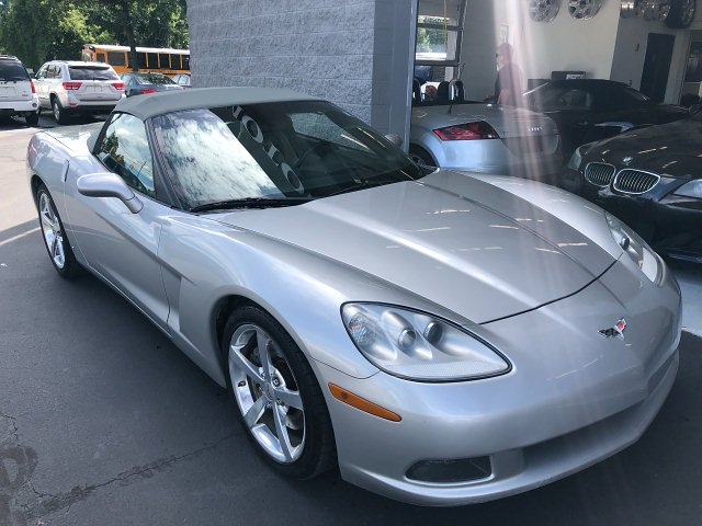 2008 Chevrolet Corvette Convertible LT3 6-Speed Manual