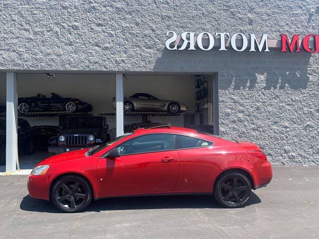 2007 Pontiac G6 GTP Coupe 6-Speed Automatic