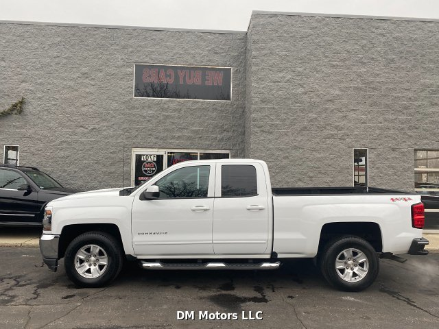 2017 Chevrolet Silverado 1500 LT Double Cab 4WD 6-Speed Automatic