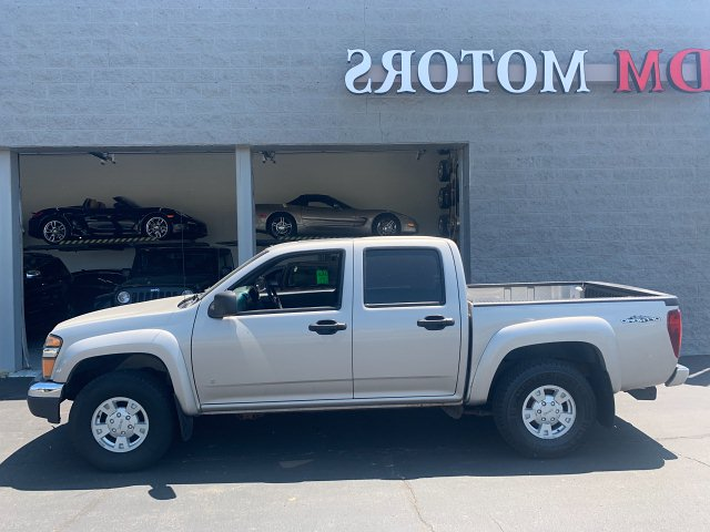 2006 GMC Canyon SLE1 Crew Cab 2WD 4-Speed Automatic