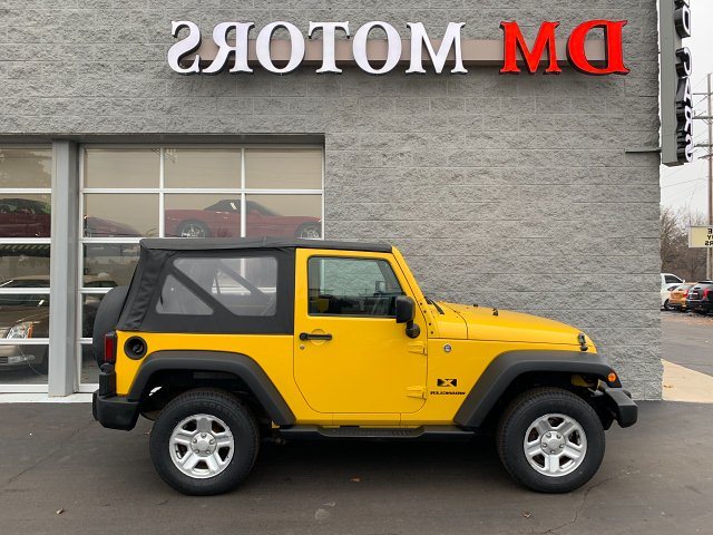 2009 Jeep Wrangler X 4-Speed Automatic