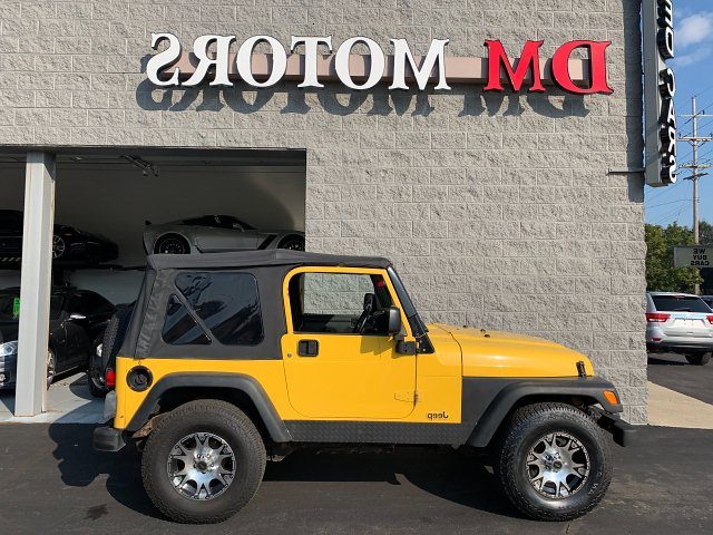 2003 Jeep Wrangler SE 4-Speed Automatic