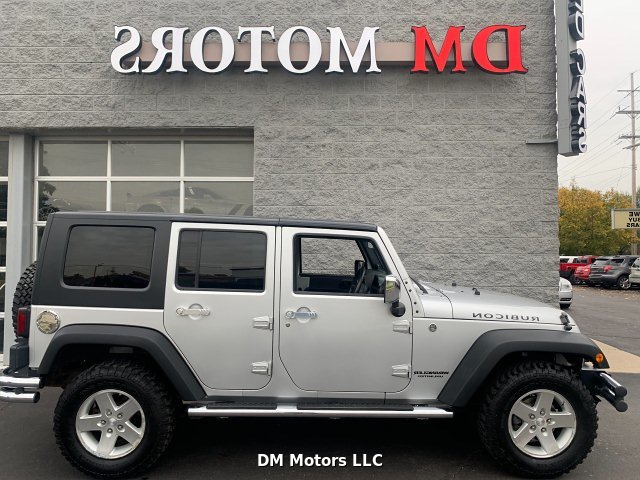 2008 Jeep Wrangler Unlimited Rubicon 4-Speed Automatic