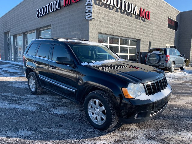 2008 Jeep Grand Cherokee Limited 4WD 5-Speed Automatic