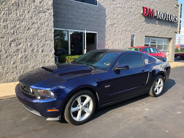 2011 Ford Mustang GT Coupe 6-Speed Automatic