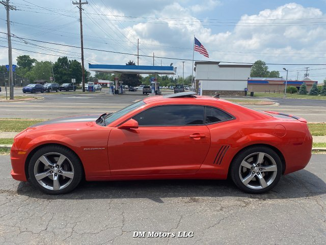 2011 Chevrolet Camaro 2SS Coupe 6-Speed Automatic