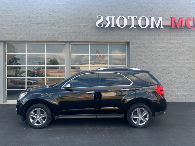 2014 Chevrolet Equinox LTZ AWD 6-Speed Automatic