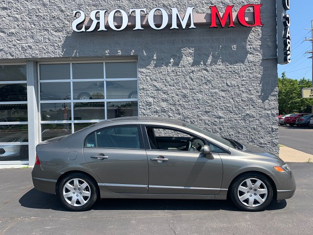 2007 Honda Civic LX Sedan AT 5-Speed Automatic