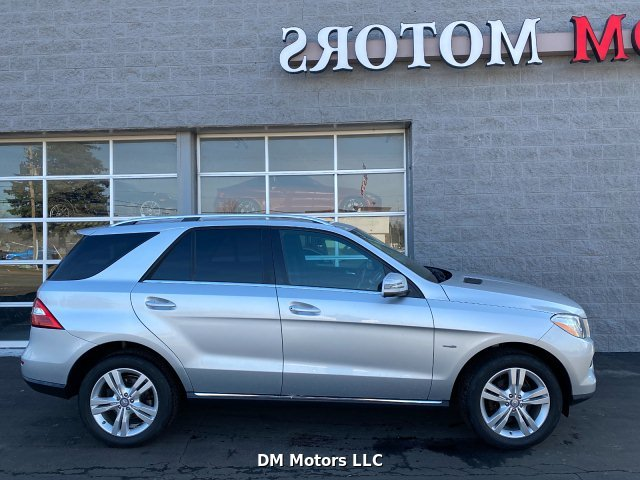 2012 Mercedes Benz M-Class ML350 4MATIC 7-Speed Automatic