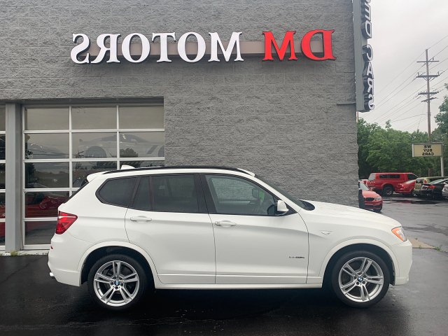 2014 BMW X3 xDrive35i 8-Speed Automatic