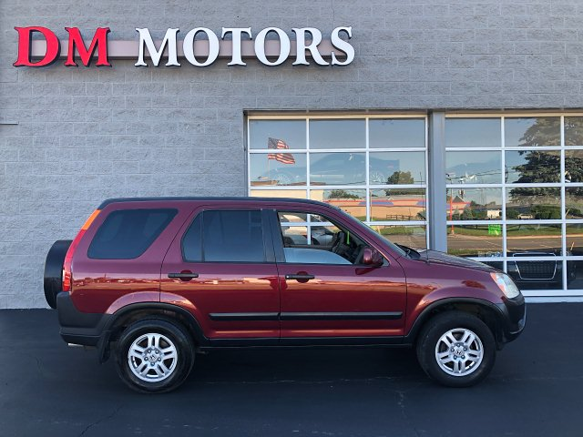 2004 Honda CR-V EX 4WD AT 4-Speed Automatic