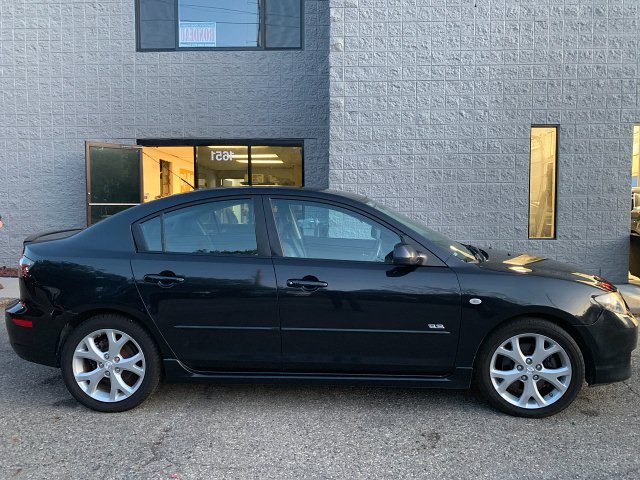 2007 Mazda MAZDA3 s Grand Touring 4-Door 5-Speed Automatic