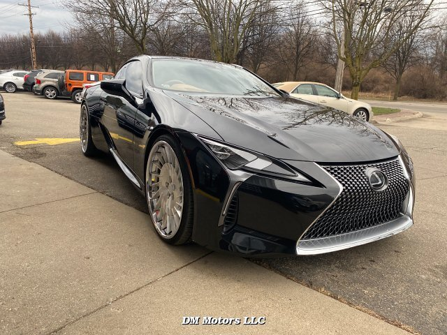 2018 Lexus LC 500 Coupe 10-Speed Automatic