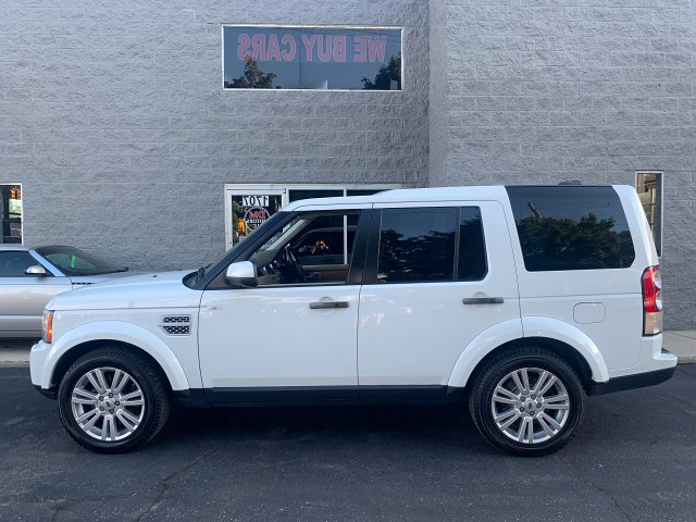 2012 Land Rover LR4 HSE 6-Speed Automatic