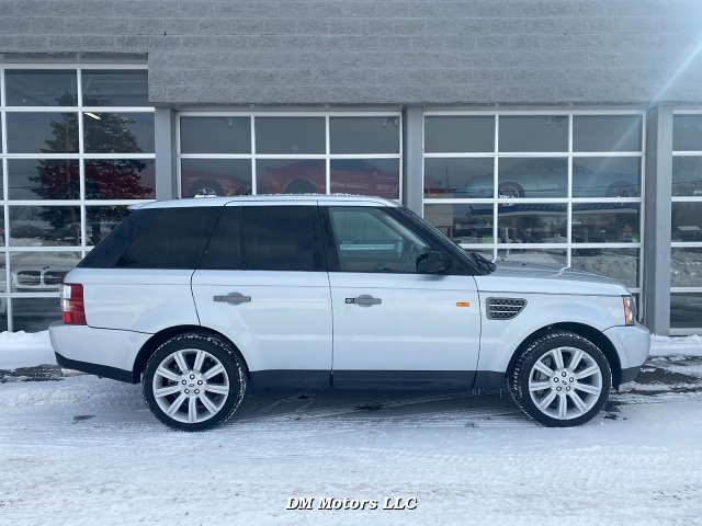 2008 Land Rover Range Rover Sport Supercharged 6-Speed Automatic
