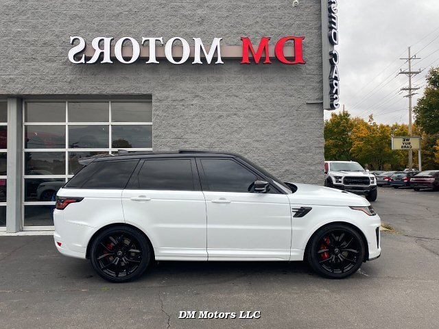 2020 Land Rover Range Rover Sport SVR 8-Speed Automatic