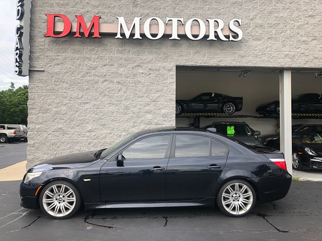 2008 BMW 5-Series 550i 6-Speed Automatic