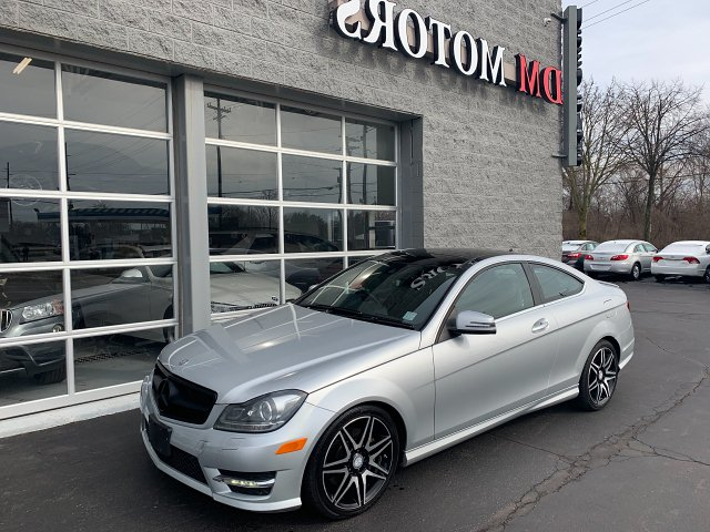 2013 Mercedes Benz C-Class C350 Coupe 4MATIC 7-Speed Automatic