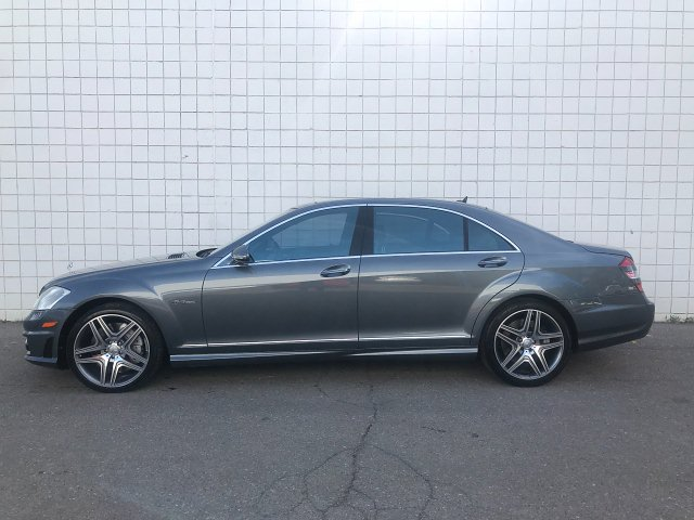 2008 Mercedes Benz S-Class S63 AMG 7-Speed Automatic