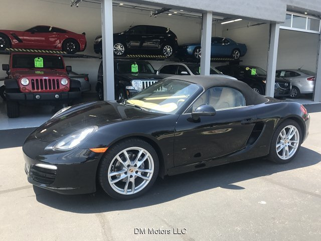 2014 Porsche Boxster Base 5-Speed Automatic